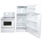 GE 28'' Kitchen Sets Ensembles de cuisine GTS18HBSARWW and GRSR3955ZWW-1 Blanc (1)