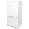 Amana 32.5' Bottom Freezer Réfrigérateurs ARB2217CW Blanc (1)
