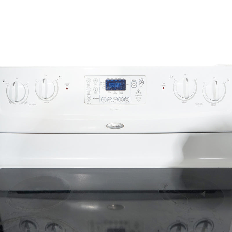 Whirlpool 30' Kitchen Sets Ensembles de cuisine WERP4101SQ1 and WRT549SZDW00 Blanc (3)
