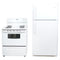 Frigidaire 30' Kitchen Sets Ensembles de cuisine FFHT1814LW4 and CFEF3007LWF Blanc