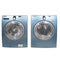 Samsung 27'' Stackable Laundry Pair Duos laveuse-sécheuse superposable WF218ANB/XAC01 and DV218AEB/XAC Bleu