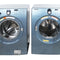 Samsung 27'' Stackable Laundry Pair Duos laveuse-sécheuse superposable WF218ANB/XAC01 and DV218AEB/XAC Bleu (1)