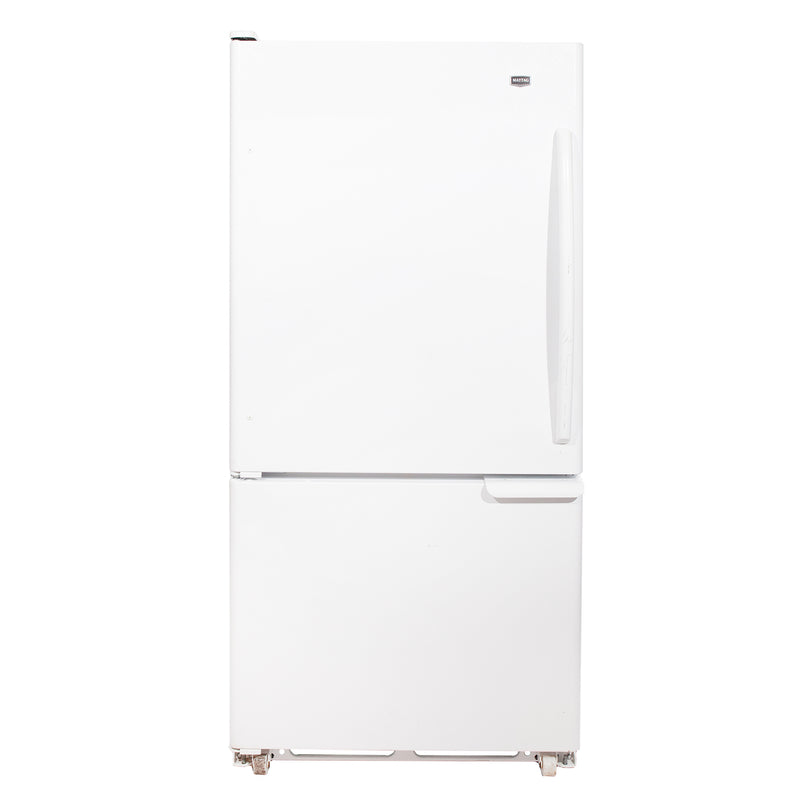 Maytag 30'' Bottom Mount Réfrigérateurs MBB1953XEW2 Blanc