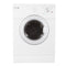 Whirlpool 24' Duos laveuse-sécheuse superposable YWED7500VW and MHWC7500YN Blanc