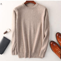Cashmere cotton sweater men 2020 autumn winter jersey Jumper Robe hombre pull homme hiver pullover men o-neck Knitted sweaters