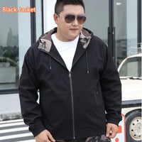 Autumn Men Coat 2020 Casual Hoodie Windproof Cargo Fashion Loose Plus Size Jacket Man Hat Clothes Winter Fleece Sports Clothing