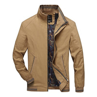 Men Bomber Jackets Cotton Coats Male Business Jacket Windbreaker Outwears Men's Clothing Casual Zipper Autumn Spring Coat LM228