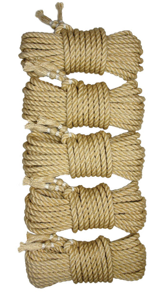 Lightning 7 jute rope (7m x 5-pack)