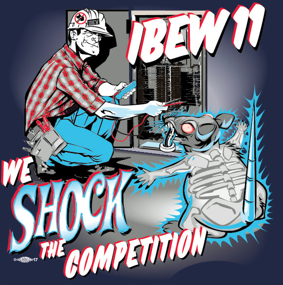 We Shock the Competition T-Shirt