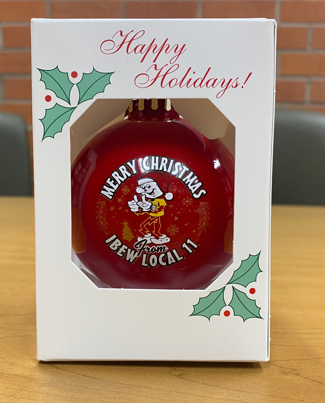 Reddy Kilowatt Christmas Ornament