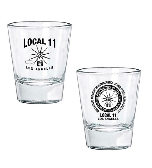 IBEW Declaration Shot Glass