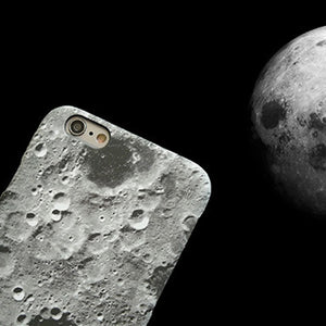 Moon surface texture for iphoneX case phone husk cosmos oversleeve