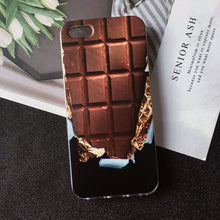 Load image into Gallery viewer, Chocolate Cookies fries beer Creativity phone case for apple iphone 6 Case 4 5S SE 6S 7 8 Plus 