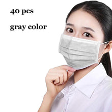 Load image into Gallery viewer, 50pcs/10pcs Non-woven 3 layers Anti-dust KN90 Masks Disposable Safe Breathable Face Mouth Mask Kids Adult Ear loop Filter Masks