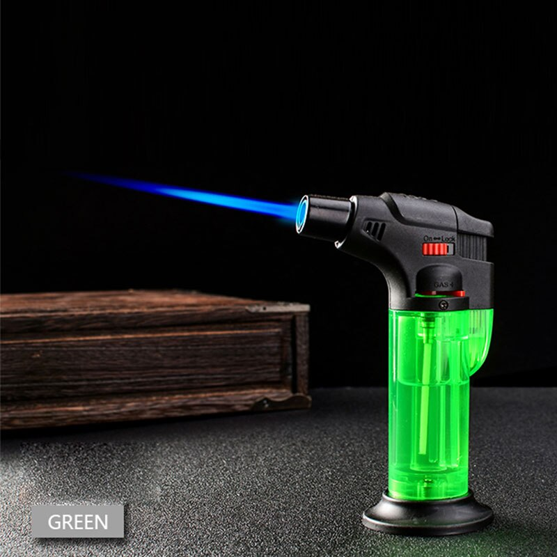1pc Butane Lighter Torch Refillable Adjustable Flame Lighter Chef Cooking Torch BBQ Ignition Picnic Tool Dropshipping