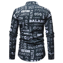 Load image into Gallery viewer, Men Cotton Casual Print Full Sleeve Regular Shirts