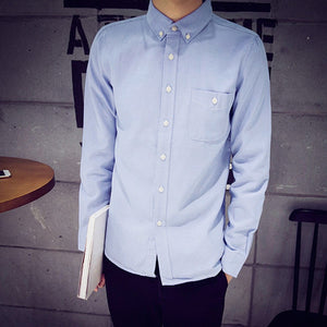 Men Cotton Solid Casual Full Sleeve Regular Shirts