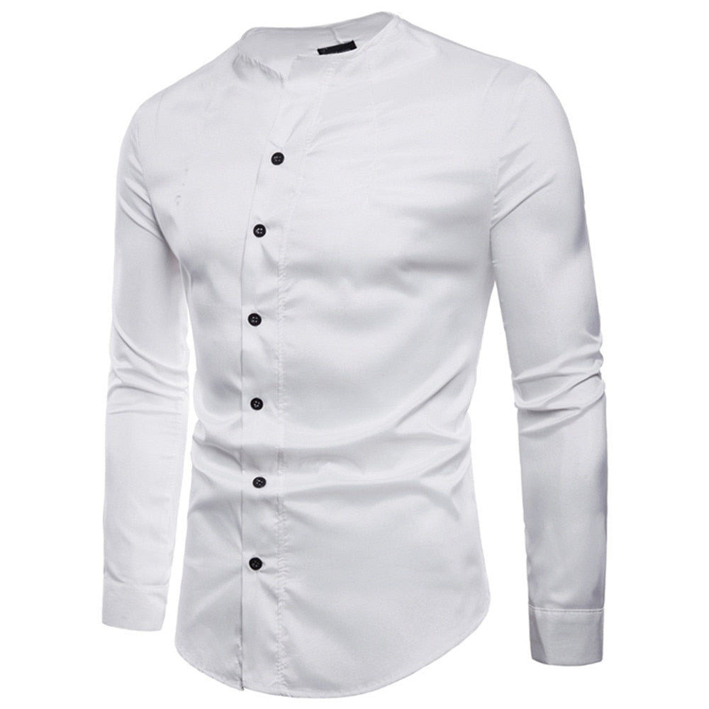 Men Regular Cotton Solid Full Sleeve Casual Shirts