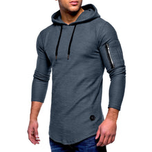 Load image into Gallery viewer, Men Regular Standard Polyester Solid Full Sleeve Sweatshirts