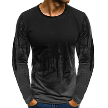 Load image into Gallery viewer, Men Solid Casual Full Sleeve Cotton Regular Tees