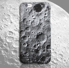 Load image into Gallery viewer, Moon surface texture for iphoneX case phone husk cosmos oversleeve
