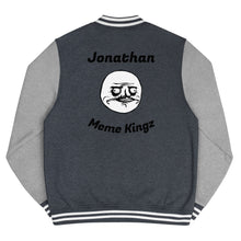 Load image into Gallery viewer, Meme Kingz Men's Letterman Jacket (Custom Name)