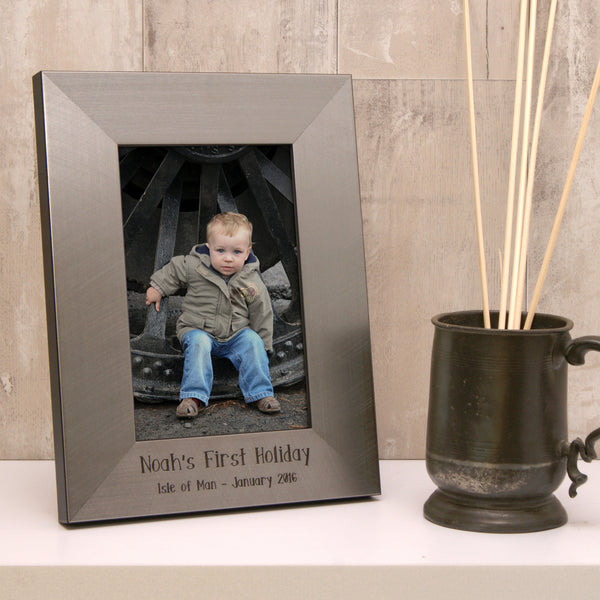 Personalised Milestone Photo Frame