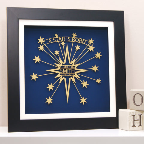 Personalised 'A Star is Born' Wall Art
