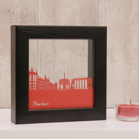 Aberdeen Landmarks Mini Wall Art