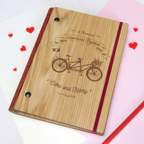 Personalised 'New Adventures' Wedding Planner
