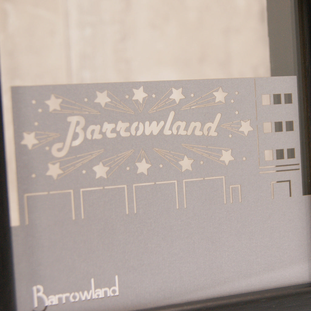 Glasgow Barrowland in Pearlescent Galvanised Metal