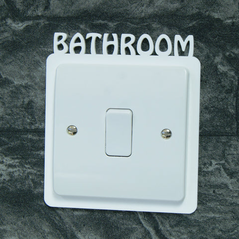 Rooms of the House Light Switch Surround