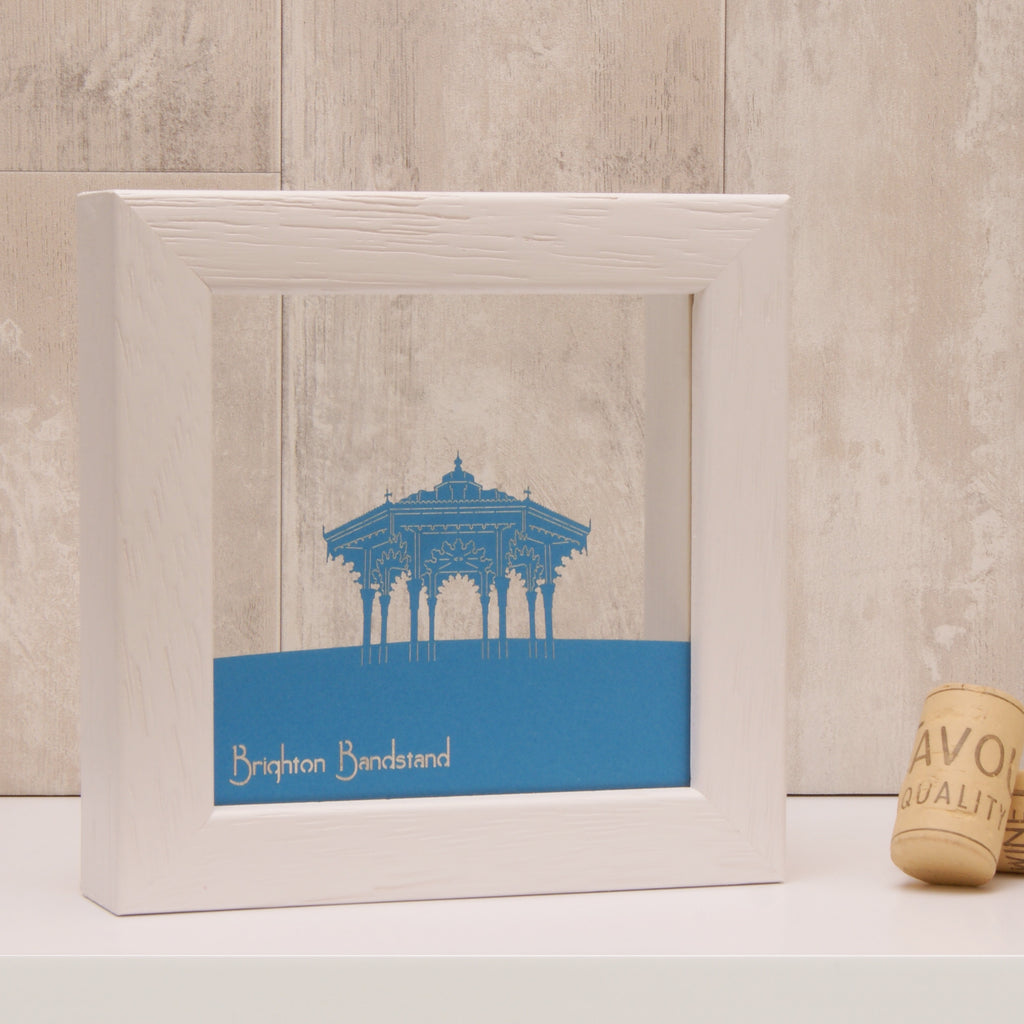 Brighton Bandstand in Matt Tabriz Blue