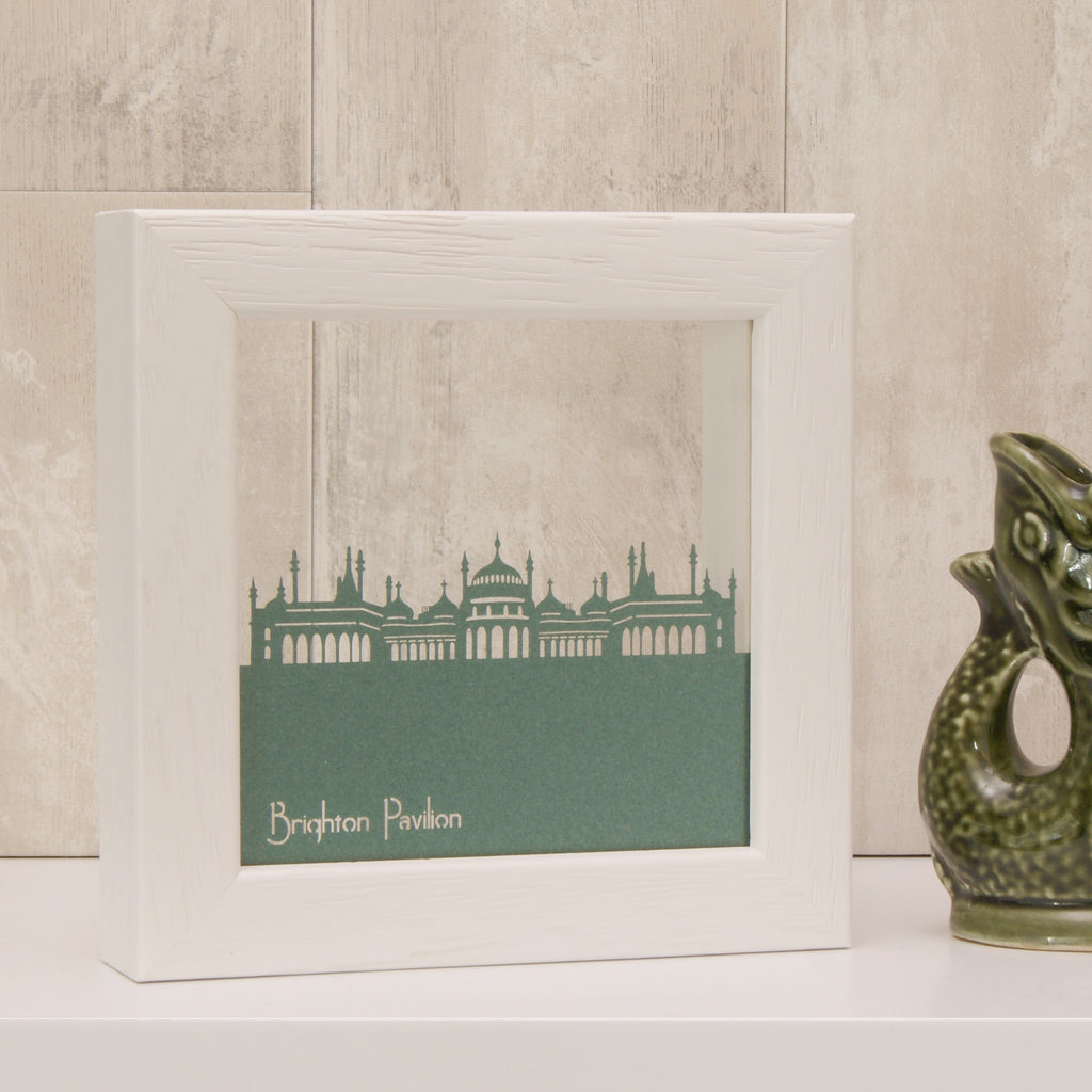 Brighton Pavilion in Pearlescent Emerald Green