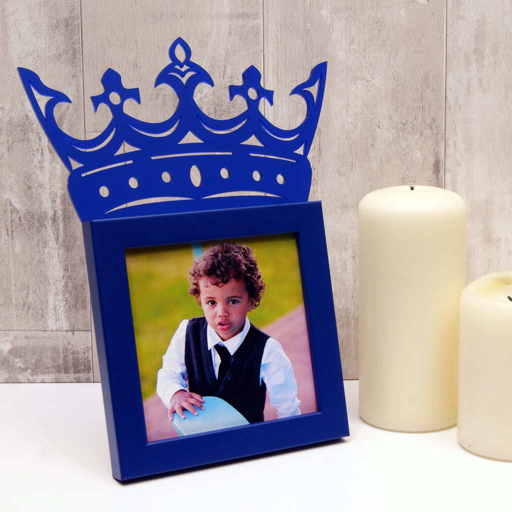 Child's 'Little King' Mini Photo Frame