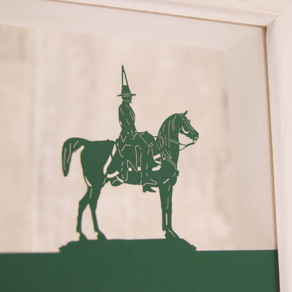 Glasgow Duke of Wellington in Matt Forest Green