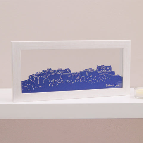 Edinburgh Castle Mini Panoramic Wall Art
