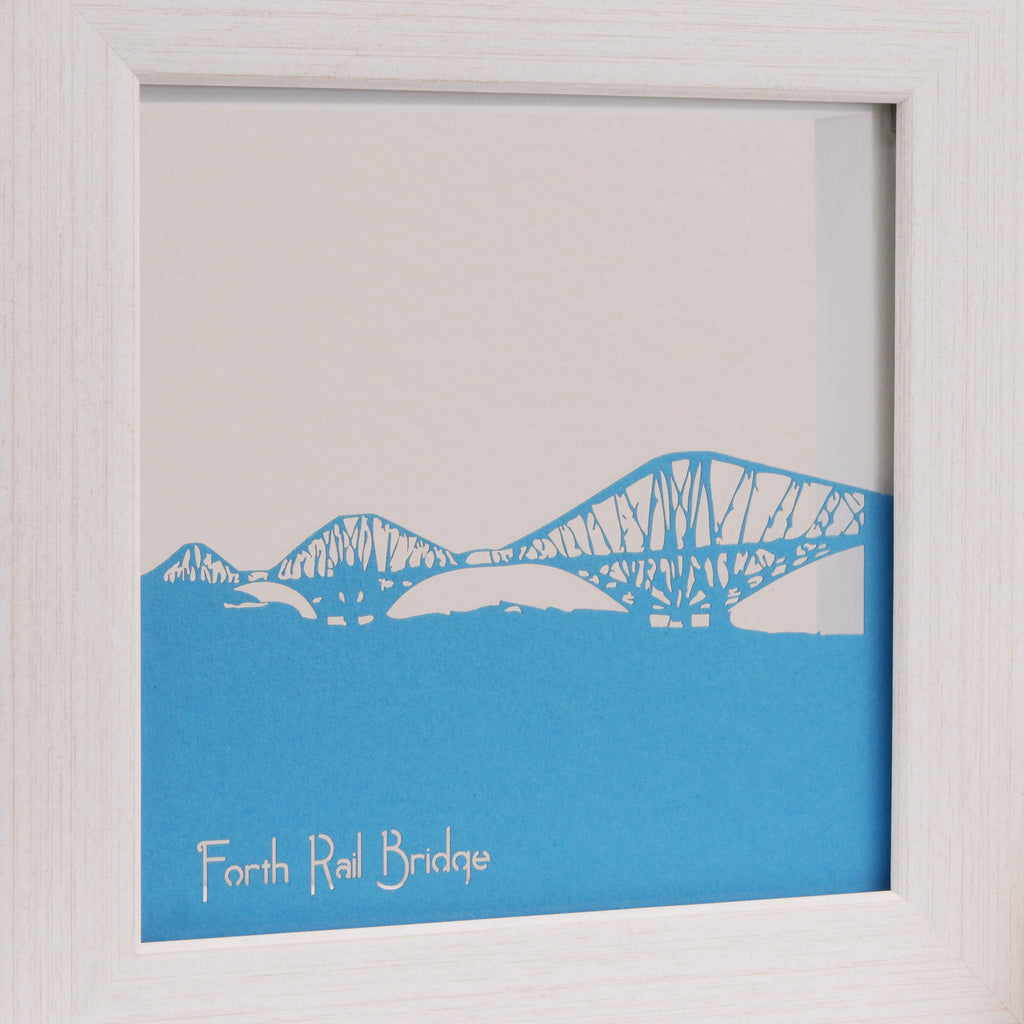 Forth Rail Bridge in Matt Tabriz Blue