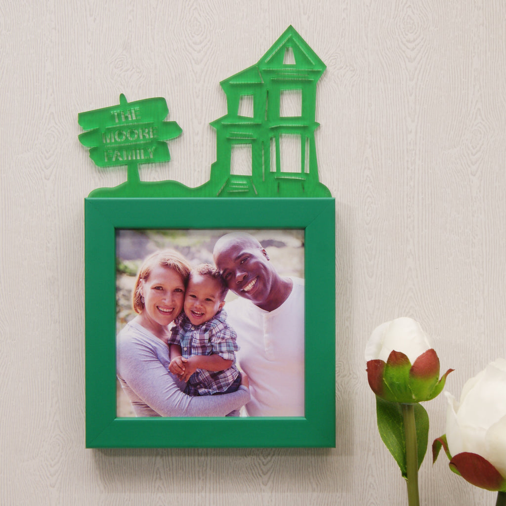 Personalised Family Home Mini Photo Frame