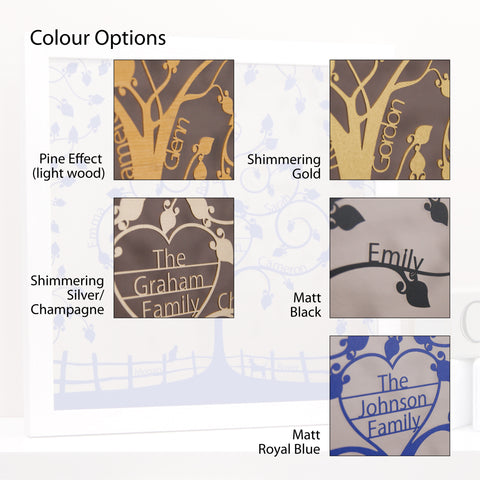 Colour Options (Limited Edition Aged Pine currently unavailable)