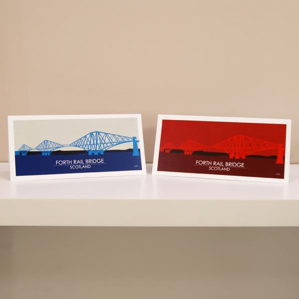 Edinburgh Printed Landmark Cards