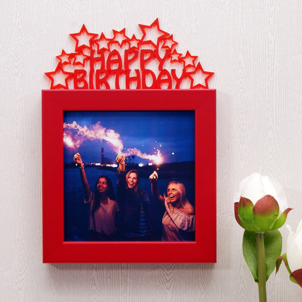 'Happy Birthday' Mini Photo Frame