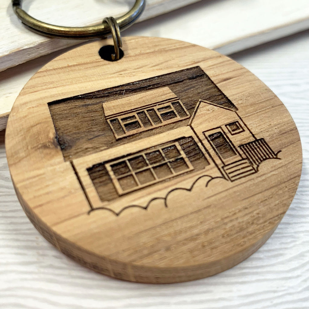 Personalised House Keys Keyring