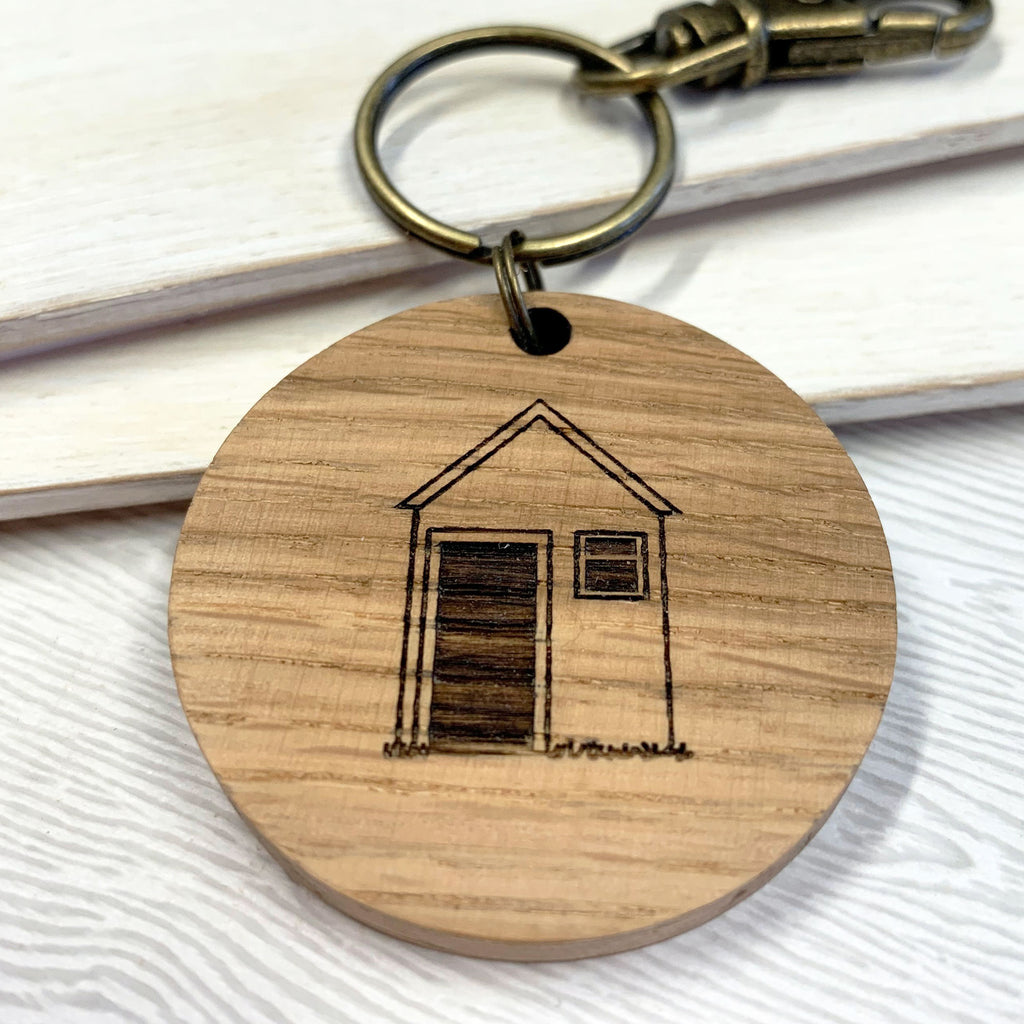 Personalised Shed Keys Keyring