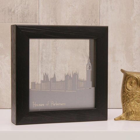 London - Houses of Parliament Mini Wall Art