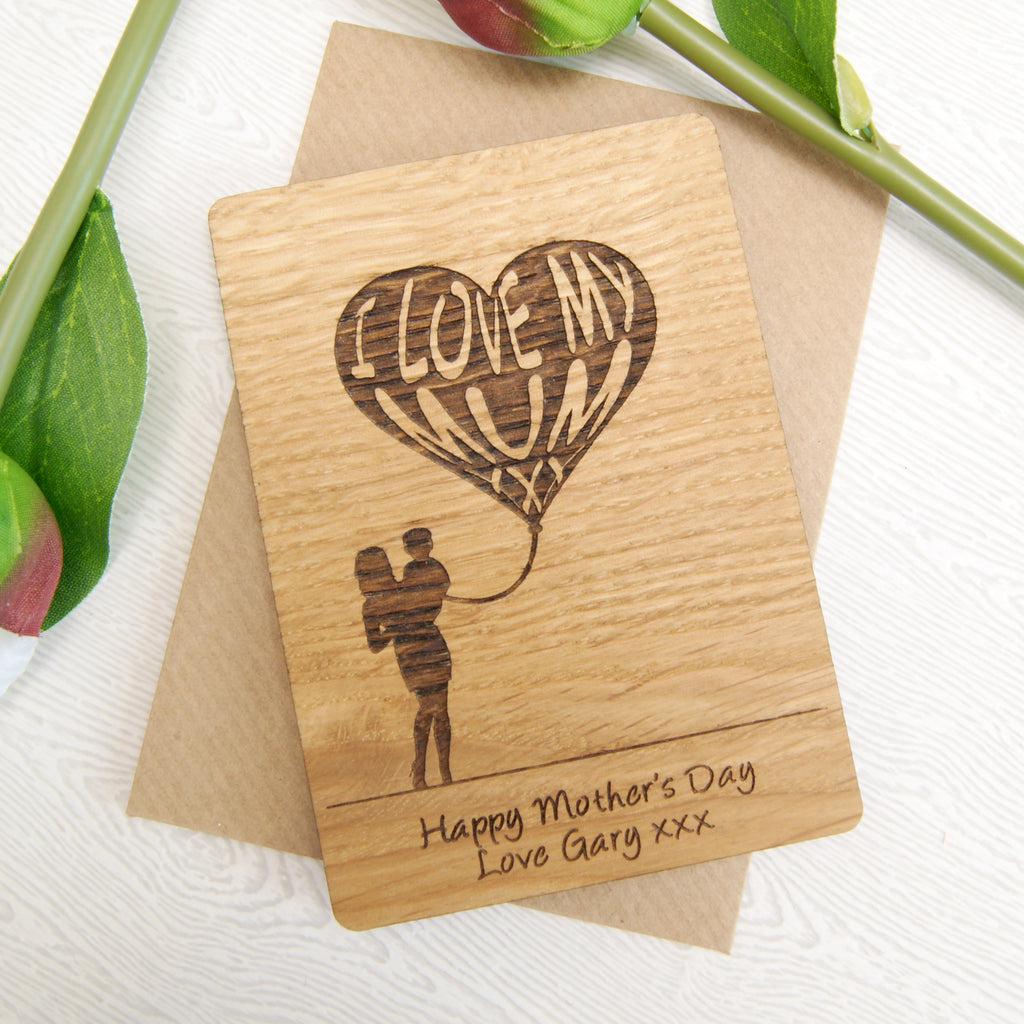 Personalised I Love My Mum Mother's Day Magnet