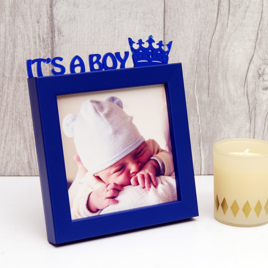 'It's A Boy!' Mini Photo Frame