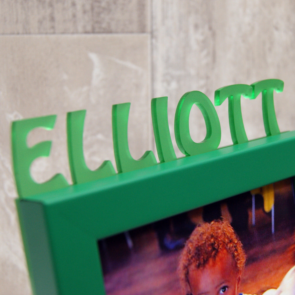 Personalised Child's Name Mini Photo Frame