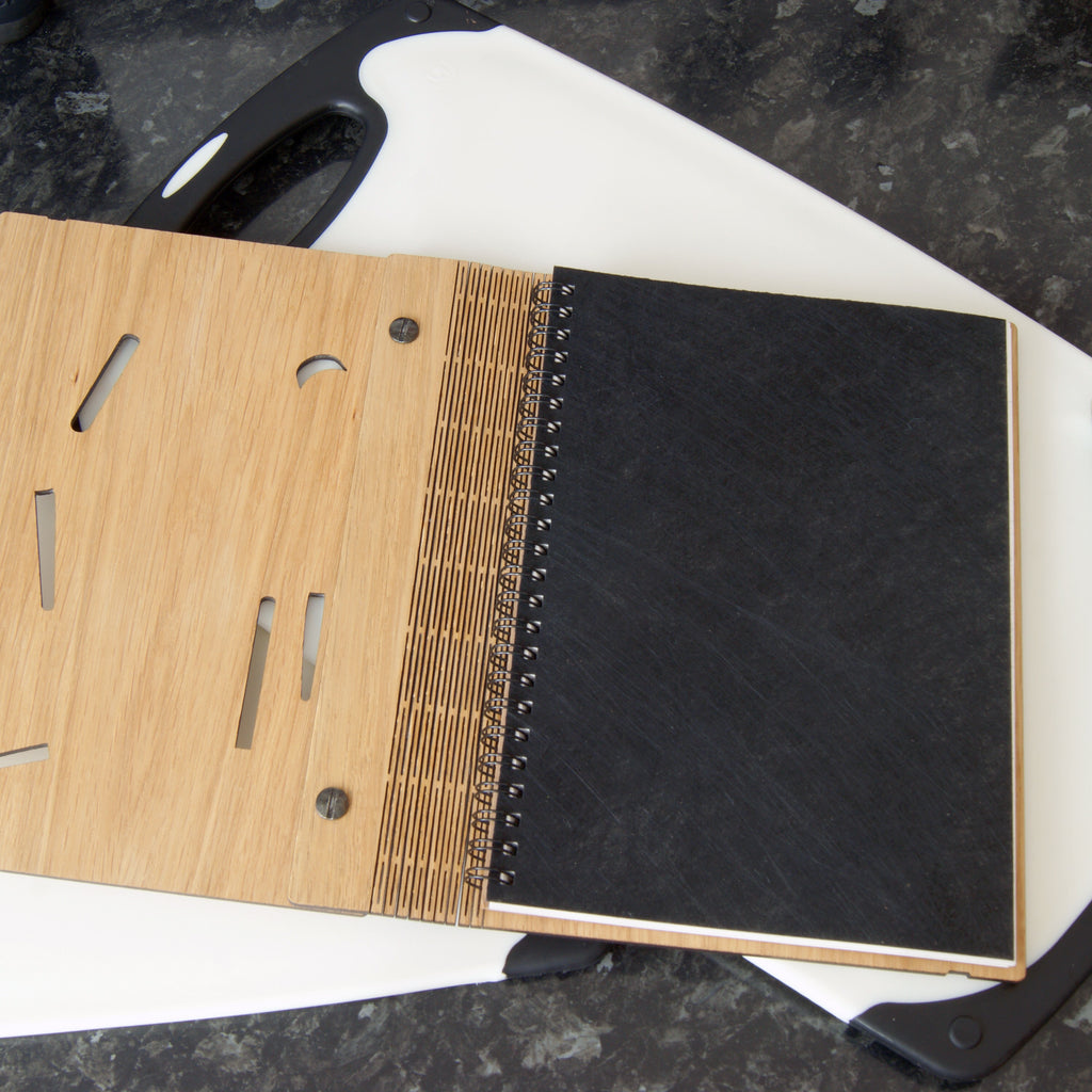 Recipe Notebook in Black