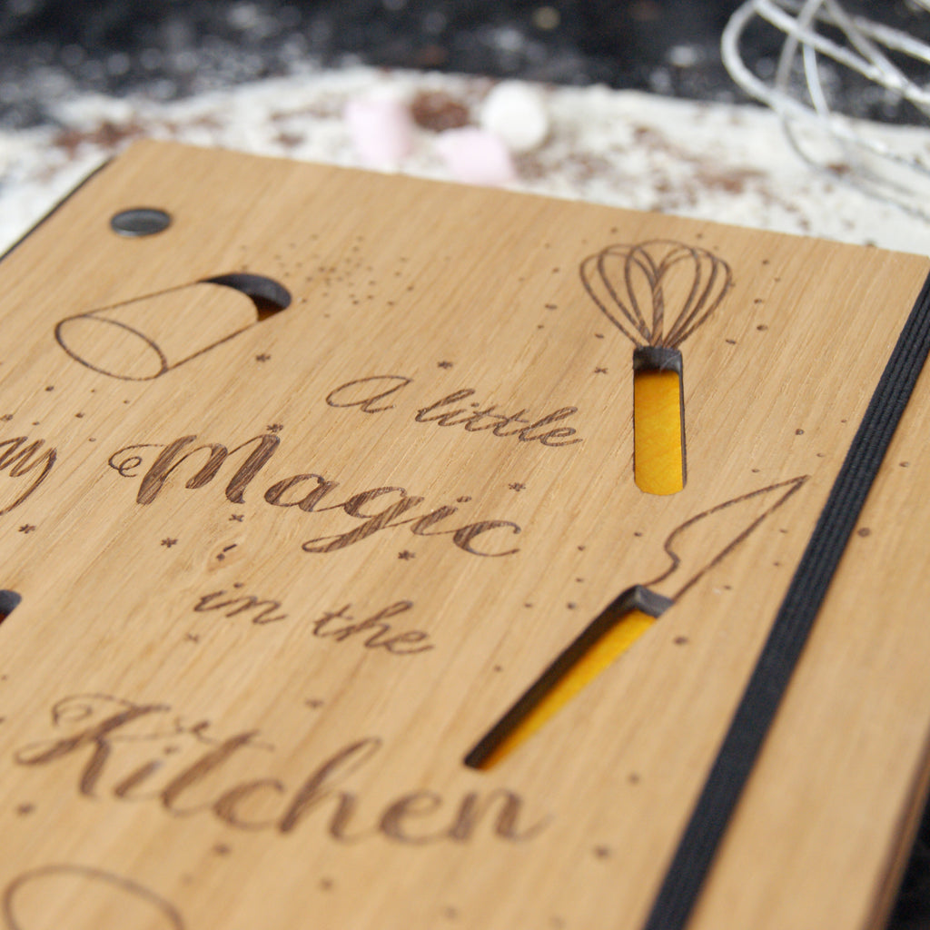 Recipe Notebook in Yellow
